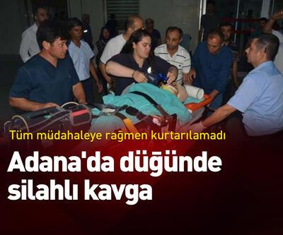 Adana'da düğünde silahlı kavga!