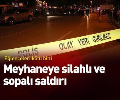 Adana'da meyhaneye silahlı saldırı