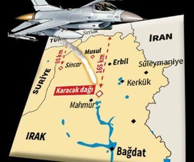 İHA'lar buldu, F-16'lar vurdu!