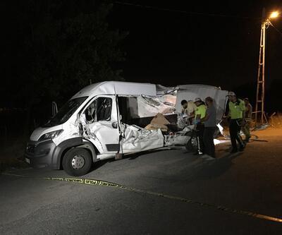 Şile Otoyolu'nda korkunç kaza: 2 ölü, 3 yaralı