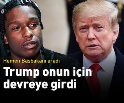 Trump rapçi ASAP Rocky için devrede