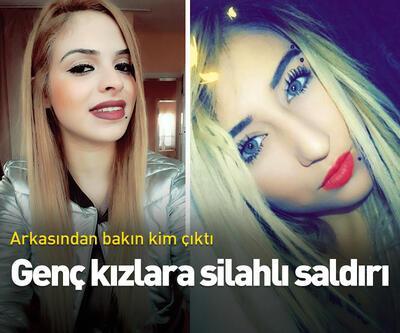 Genç kızlara silahlı saldırı