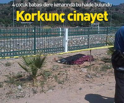 Aydın'da korkunç cinayet