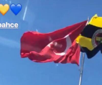 Fenerbahçe'ye böyle veda etti