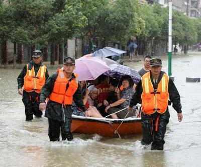 Çin'de sel 4 can aldı