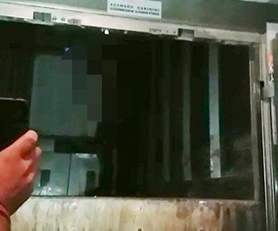 Asansörde sıkışan adam hayatını kaybetti