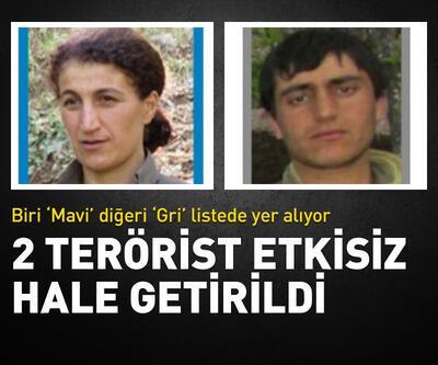 2 terörist etkisiz hale getirildi