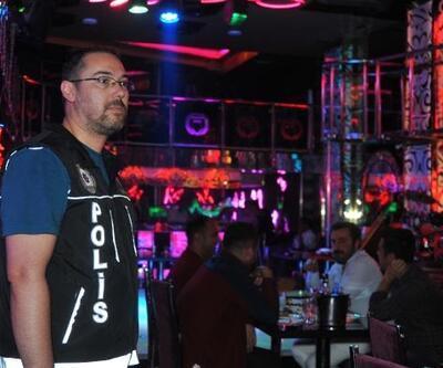 Bursa'da 250 polisin katılımıyla gece kulüplerine baskın