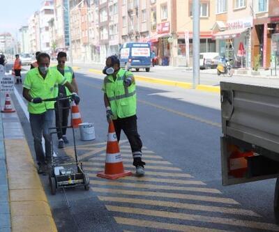 Trafik güvenliği için çalışmalar sürüyor