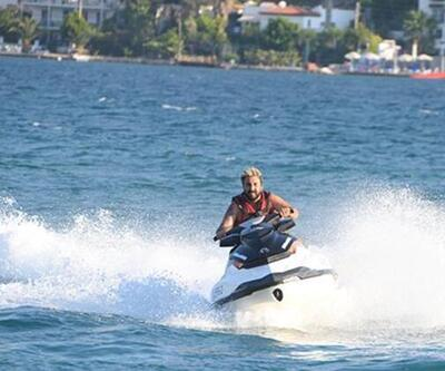 İbrahim Aktolon'dan jet-ski şov