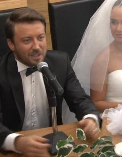 Tolga Güleç ile Yeliz Şar evlendi