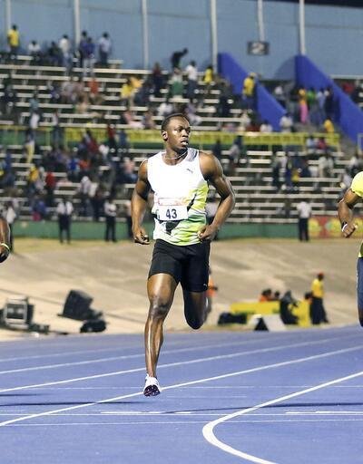 Bolt yine birinci