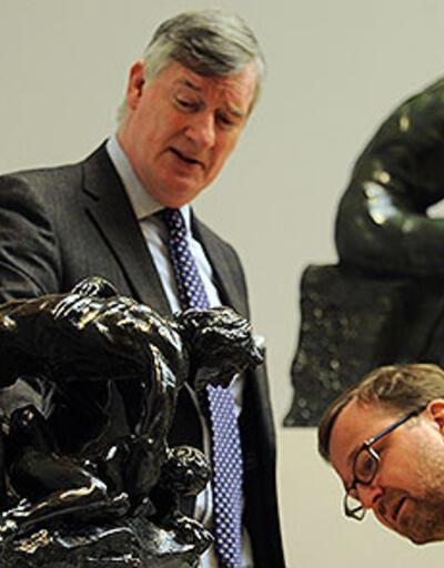 Rodin'in iki ünlü eseri müzayedede satıldı