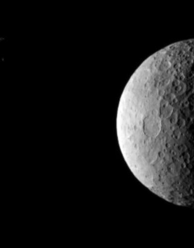 Cüce gezegen CERES'ten yeni fotoğraflar