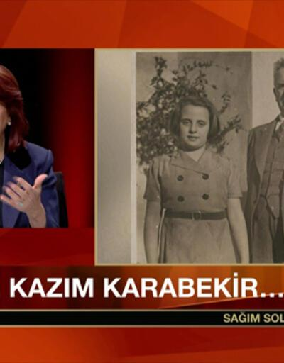 Kazım Karabekir'in Torunu CNN TÜRK'te