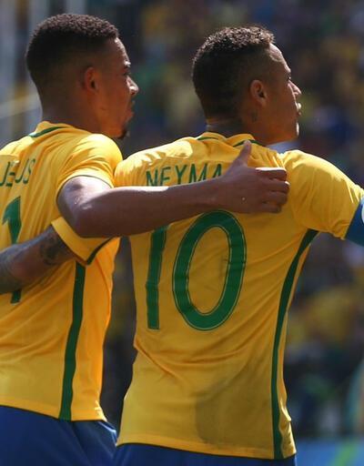 Brezilya Honduras'ı 6 golle geçti