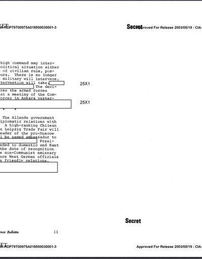 12 Mart muhtırası CIA belgelerinde