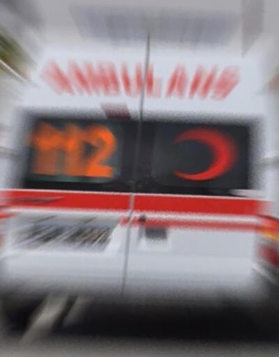 Güreşçileri taşıyan minibüs devrildi: 5 yaralı