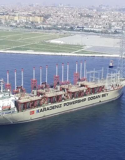 İstanbul'un elektriğine denizden destek
