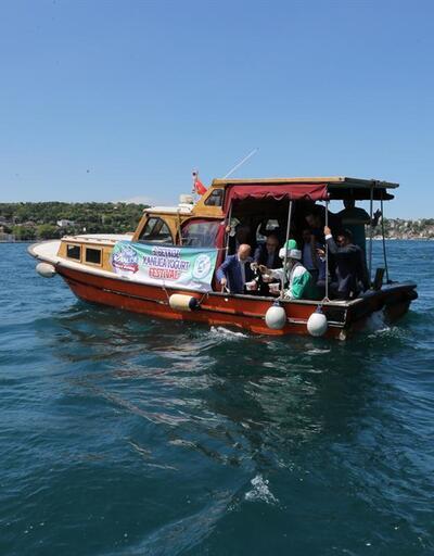 Kanlıca Yoğurt Festivali'nde Boğaz'a maya çalındı