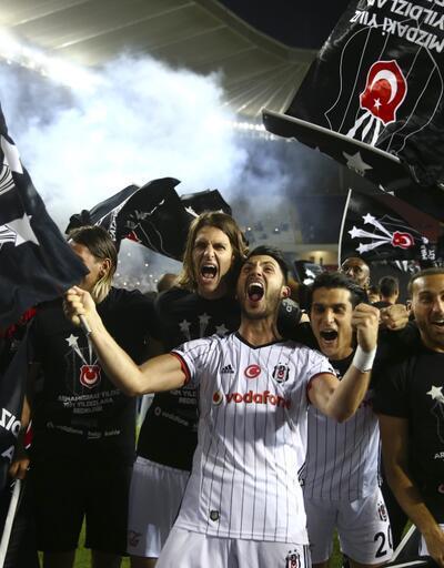 Şampiyon Beşiktaş 3. yıldızı taktı