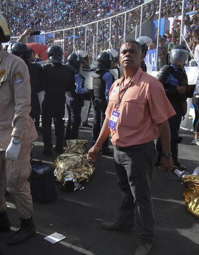 Stadyumda korkunç olay: Doğmamış bebek hayatını kaybetti