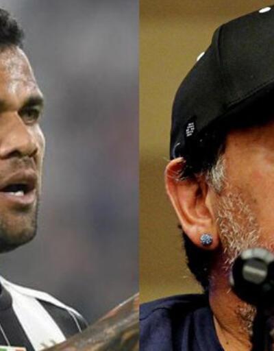 Maradona: Alves aptalın teki