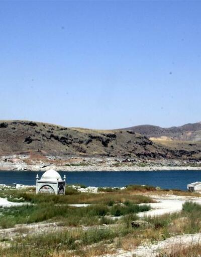 Kayseri'deki batık köy su üstüne çıktı