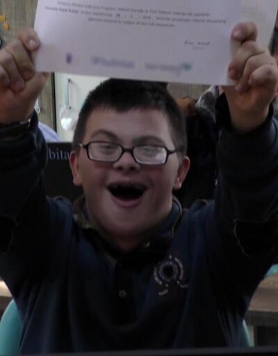 Down sendromlu çocukların görülmeye değer mutluluğu