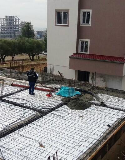 İşçilerin üzerine beton mikserinin borusu düştü: 1 ölü, 1 yaralı