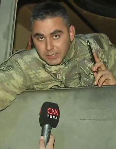 Harekata giden tank komutanı CNN TÜRK'e konuştu: Dualarınızı esirgemeyin