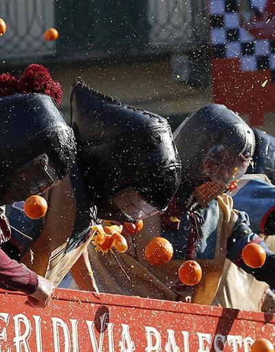 İtalya'da portakal savaşı