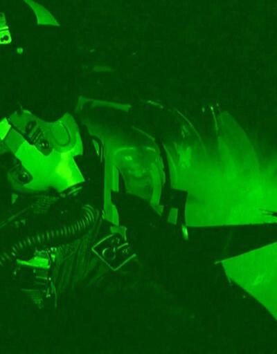 F-16'ların acil uçuş görevi ilk kez görüntülendi