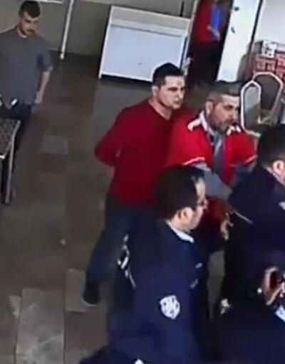 Kantindeki kavgada polis, okul müdürünü tartakladı