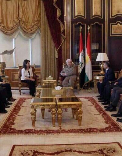 HDP milletvekilleri, Mesut Barzani ile görüştü