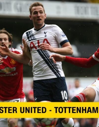 Canlı: Manchester United-Tottenham maçı izle   beIN Connect canlı yayın