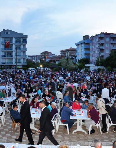 Dünyanın en büyük Mevlevihanesi'nde 3 bin kişilik iftar