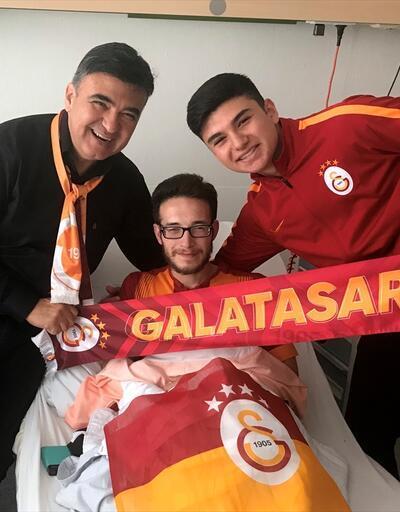 Almanya'da köpekli saldırıya uğrayan Galatasaray taraftarına davet