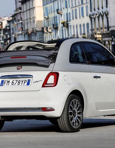 Fiat 500C Collezione Türkiye'de