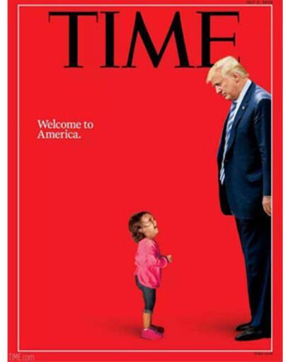 Time dergisinden Trump'a soru: 'Ne tür bir ülkeyiz biz?'