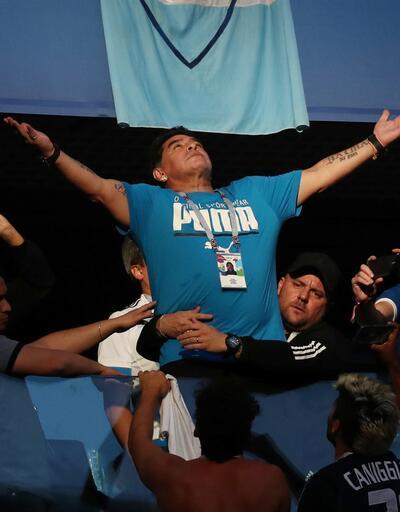 Maradona fenalaştı