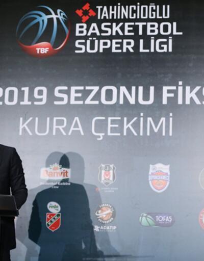 Tahincioğlu Basketbol Süper Ligi fikstürü çekildi