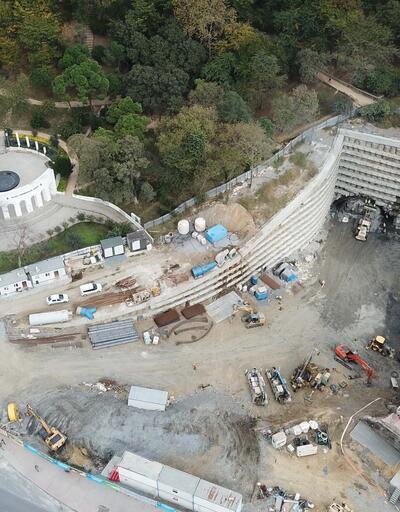 İşte Dolmabahçe-Levazım Tüneli'nde son durum