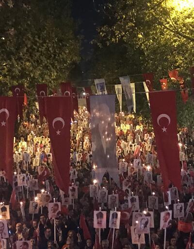 """Bağdat Caddesi'nde """"Cumhuriyet Yürüyüşü"""""""