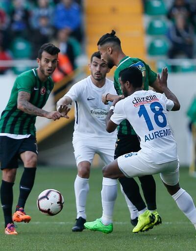Akhisarspor 1-1 Büyükşehir Belediye Erzurumspor / Maç özeti