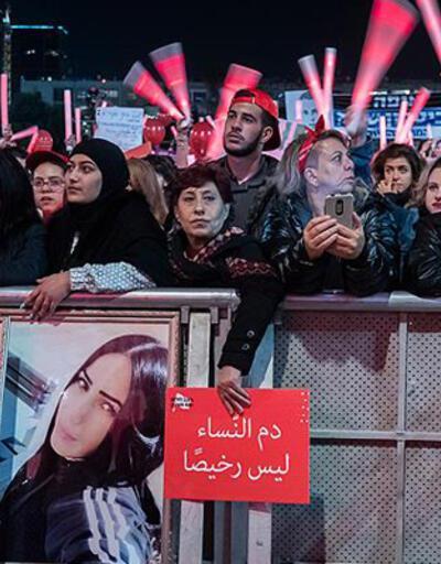 30 bin kişi kadına yönelik şiddeti protesto etti