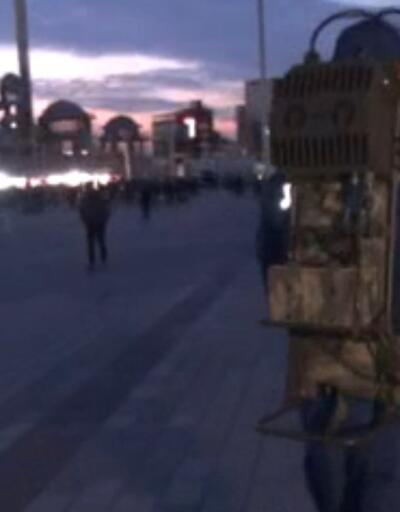 Taksim Meydanı'nda 'drone savar'lı önlem