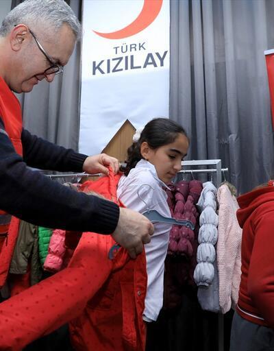 Türk Kızılayı Irak'ta yoksullar için 'Şefkat Butik' açtı