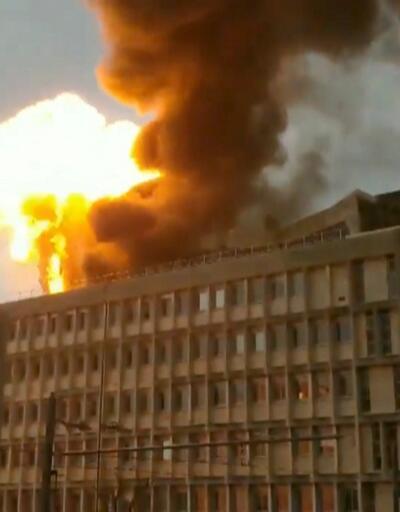 Lyon'da üniversitede patlama