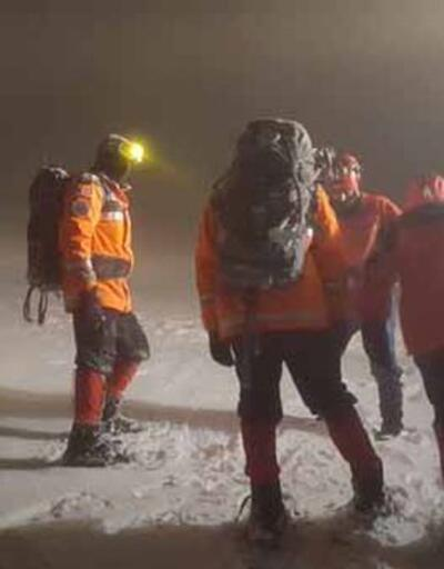 Bursa'da kaybolan dağcılar kurtarıldı